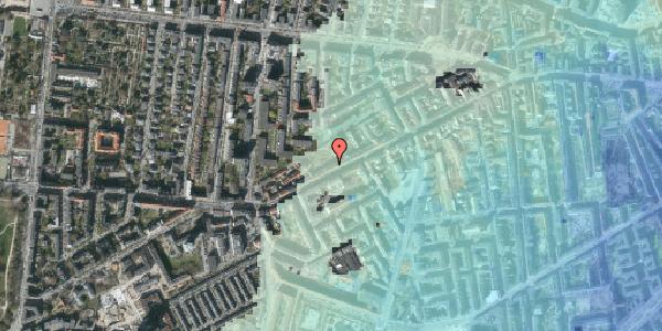 Stomflod og havvand på Vesterbrogade 130B, 4. tv, 1620 København V