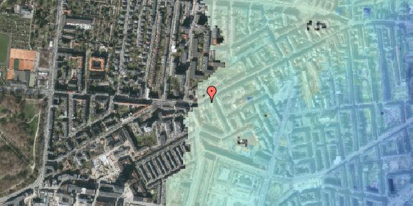 Stomflod og havvand på Vesterbrogade 133, 3. , 1620 København V