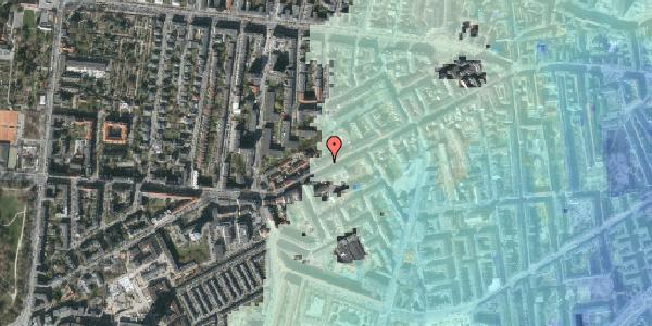 Stomflod og havvand på Vesterbrogade 134, 3. tv, 1620 København V