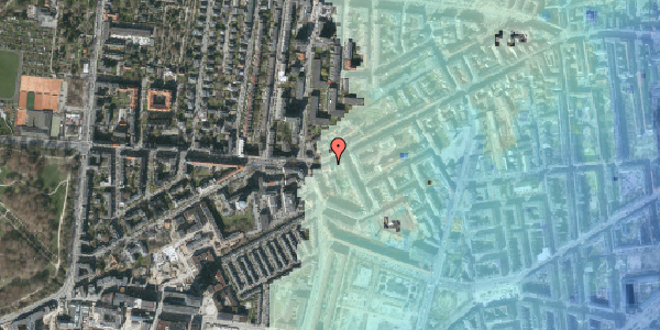 Stomflod og havvand på Vesterbrogade 135, 2. th, 1620 København V