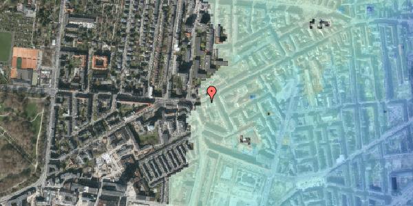 Stomflod og havvand på Vesterbrogade 135, 3. tv, 1620 København V