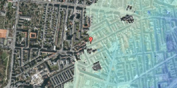 Stomflod og havvand på Vesterbrogade 136B, 3. th, 1620 København V