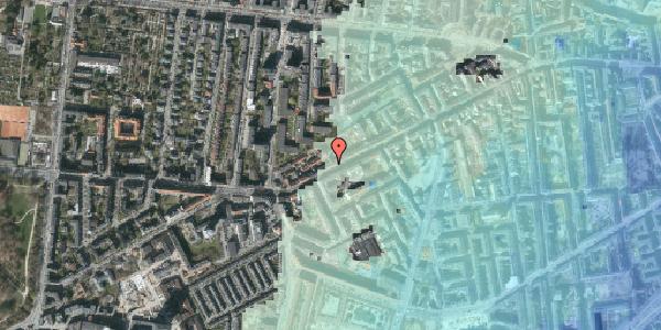 Stomflod og havvand på Vesterbrogade 138A, 3. th, 1620 København V