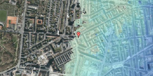 Stomflod og havvand på Vesterbrogade 139, 2. , 1620 København V