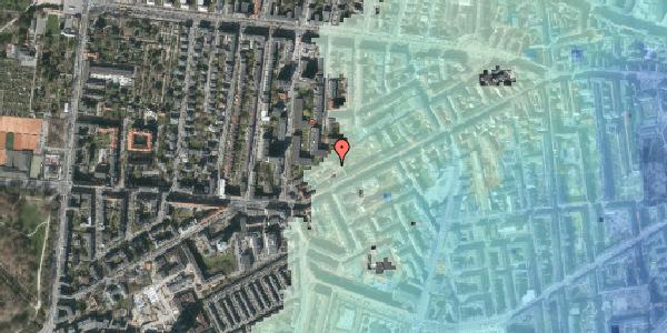 Stomflod og havvand på Vesterbrogade 140E, 3. 5, 1620 København V