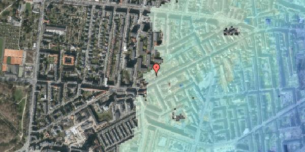 Stomflod og havvand på Vesterbrogade 142C, 2. tv, 1620 København V