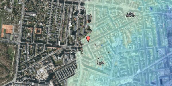 Stomflod og havvand på Vesterbrogade 144B, 3. tv, 1620 København V