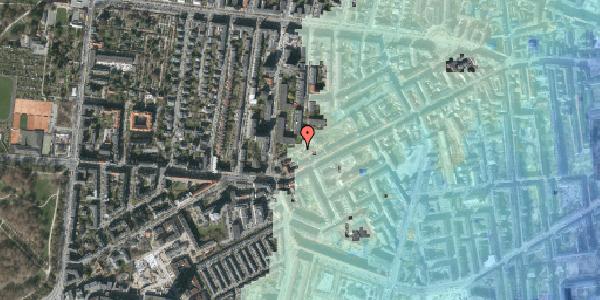 Stomflod og havvand på Vesterbrogade 144F, 1. mf, 1620 København V
