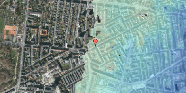 Stomflod og havvand på Vesterbrogade 146B, 4. tv, 1620 København V