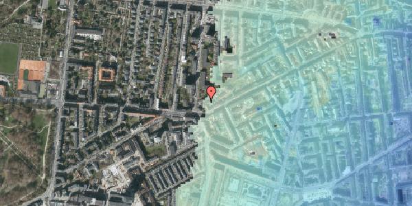 Stomflod og havvand på Vesterbrogade 148H, 1. , 1620 København V