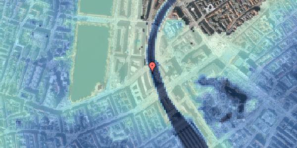 Stomflod og havvand på Vester Farimagsgade 6, 1. , 1606 København V