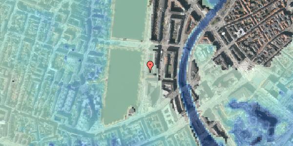 Stomflod og havvand på Vester Søgade 14, 1. th, 1601 København V