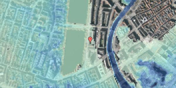 Stomflod og havvand på Vester Søgade 14, 5. tv, 1601 København V