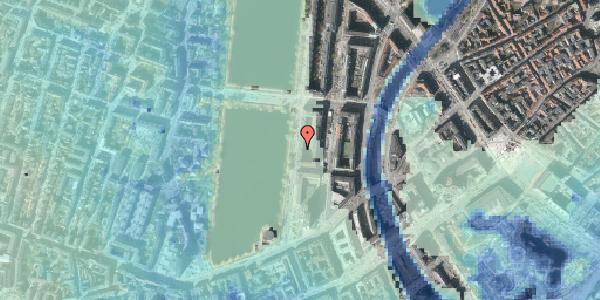 Stomflod og havvand på Vester Søgade 16, 4. tv, 1601 København V