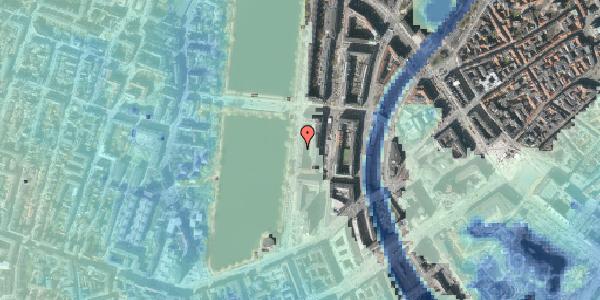 Stomflod og havvand på Vester Søgade 18, 5. tv, 1601 København V