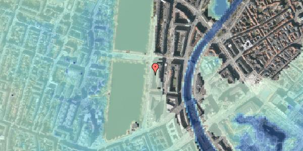 Stomflod og havvand på Vester Søgade 20, 1. th, 1601 København V