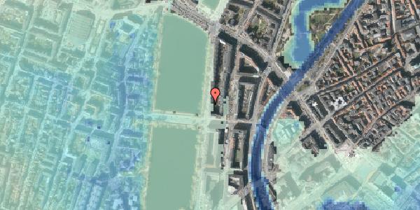 Stomflod og havvand på Vester Søgade 46, 3. th, 1601 København V