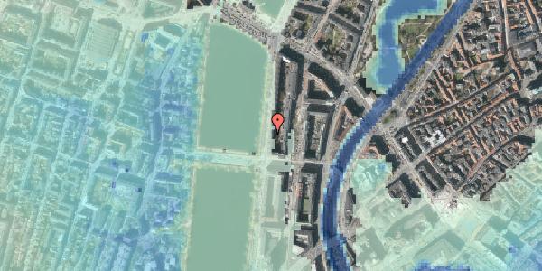 Stomflod og havvand på Vester Søgade 48, 5. tv, 1601 København V