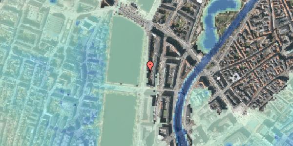 Stomflod og havvand på Vester Søgade 50, 3. th, 1601 København V