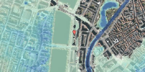 Stomflod og havvand på Vester Søgade 54, 1. th, 1601 København V