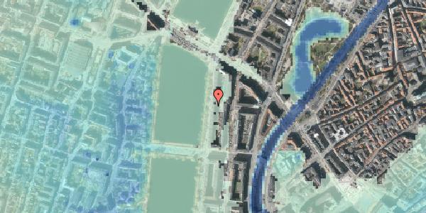 Stomflod og havvand på Vester Søgade 60, 6. , 1601 København V