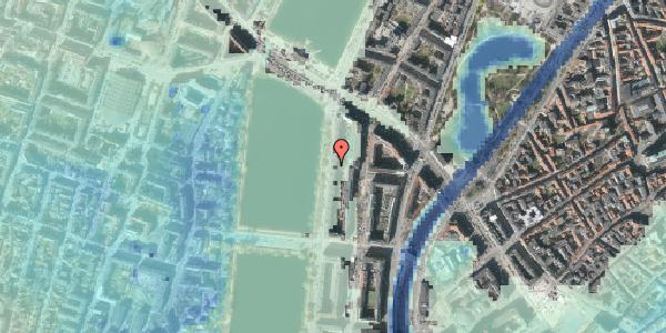 Stomflod og havvand på Vester Søgade 62, 5. tv, 1601 København V