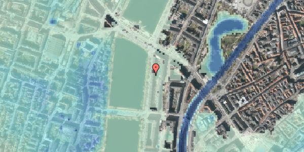 Stomflod og havvand på Vester Søgade 64, 1. tv, 1601 København V