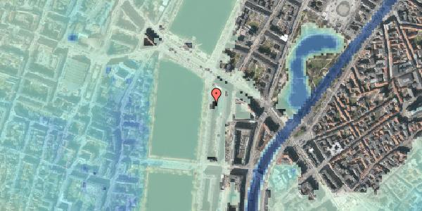 Stomflod og havvand på Vester Søgade 68, 6. , 1601 København V