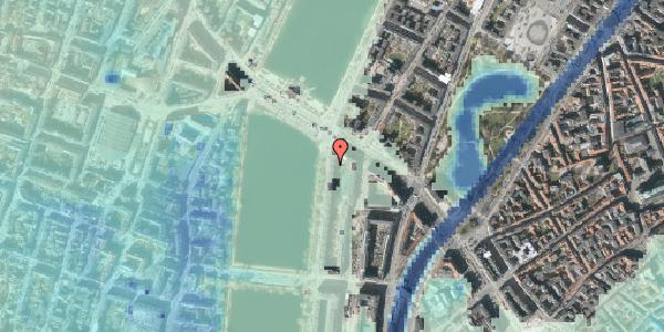 Stomflod og havvand på Vester Søgade 74, 4. tv, 1601 København V