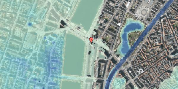 Stomflod og havvand på Vester Søgade 78, 1. 1, 1601 København V