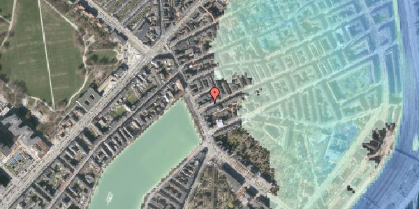 Stomflod og havvand på Willemoesgade 3, 1. tv, 2100 København Ø