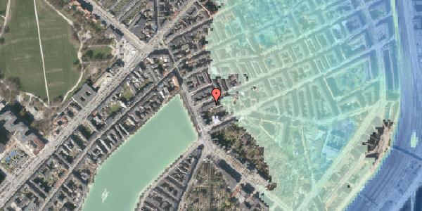 Stomflod og havvand på Willemoesgade 6, kl. 2, 2100 København Ø