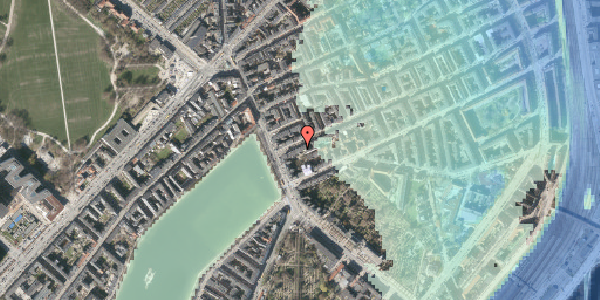 Stomflod og havvand på Willemoesgade 6, 5. tv, 2100 København Ø