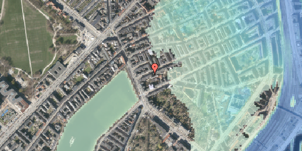 Stomflod og havvand på Willemoesgade 8, 1. tv, 2100 København Ø