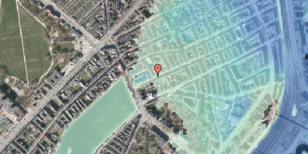 Stomflod og havvand på Willemoesgade 9, kl. , 2100 København Ø