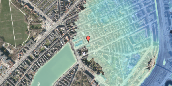 Stomflod og havvand på Willemoesgade 9, 1. tv, 2100 København Ø