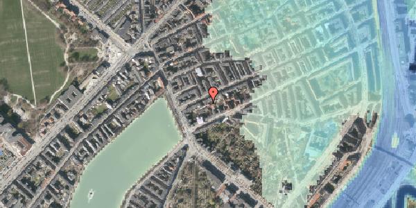 Stomflod og havvand på Willemoesgade 12A, 2100 København Ø