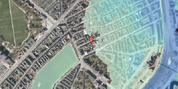 Stomflod og havvand på Willemoesgade 12, kl. tv, 2100 København Ø