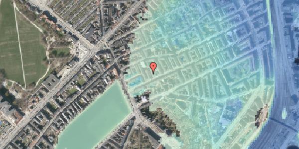 Stomflod og havvand på Willemoesgade 13, kl. , 2100 København Ø