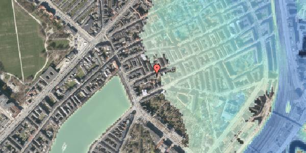 Stomflod og havvand på Willemoesgade 14, 1. tv, 2100 København Ø