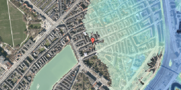 Stomflod og havvand på Willemoesgade 14, 4. tv, 2100 København Ø