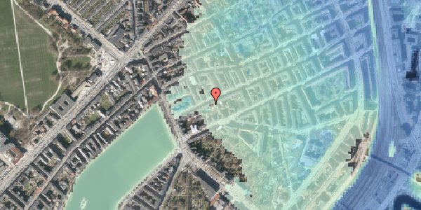 Stomflod og havvand på Willemoesgade 16, st. th, 2100 København Ø