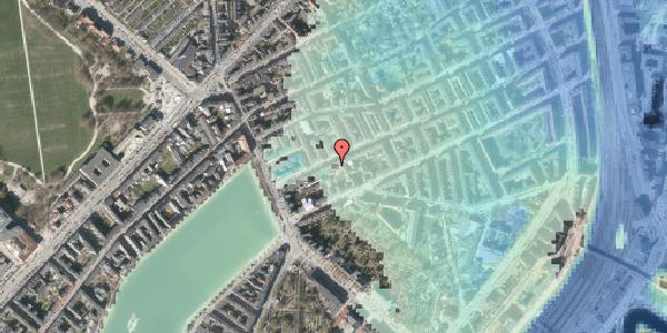 Stomflod og havvand på Willemoesgade 16, 4. tv, 2100 København Ø