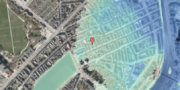 Stomflod og havvand på Willemoesgade 17, st. tv, 2100 København Ø