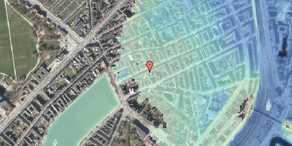 Stomflod og havvand på Willemoesgade 18, kl. , 2100 København Ø