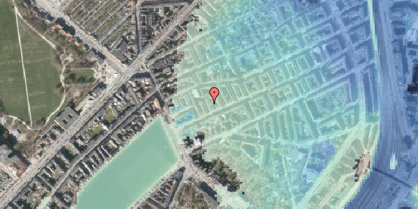 Stomflod og havvand på Willemoesgade 19, 1. tv, 2100 København Ø