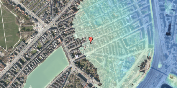 Stomflod og havvand på Willemoesgade 22, 2. th, 2100 København Ø