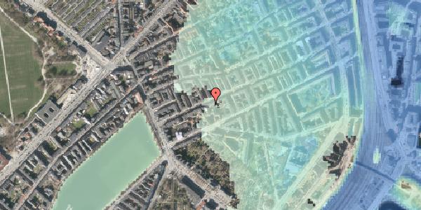 Stomflod og havvand på Willemoesgade 24, st. tv, 2100 København Ø