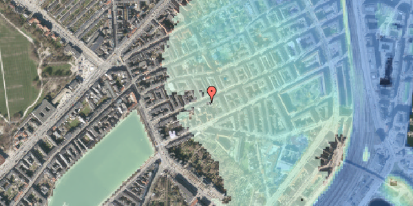 Stomflod og havvand på Willemoesgade 26, 2. th, 2100 København Ø