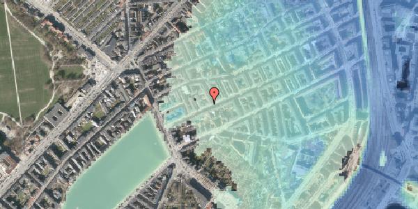 Stomflod og havvand på Willemoesgade 29, kl. , 2100 København Ø